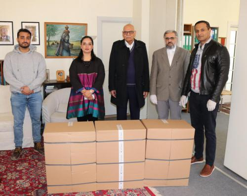 Donation of goggles to Pakistan for assistance of Covid